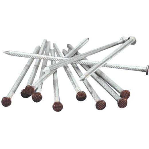 7 In. Brown Aluminum Gutter Spike, (500-Pack)