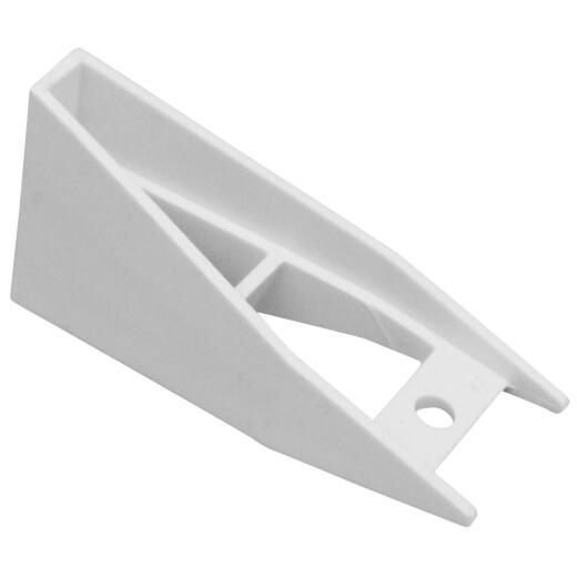 Raingo 5 In. Repla K Vinyl White Gutter Bracket Spacer, (5-Pack)