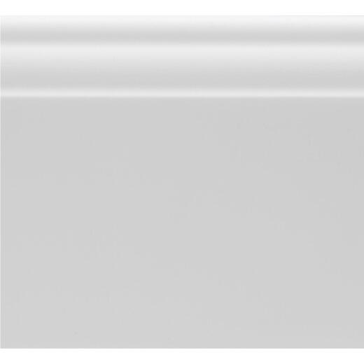Royal 9/16 In. W. x 3-1/4 In. H. x 8 Ft. L. White PVC Colonial Base Molding