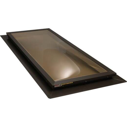 Kennedy Skylights 24 In. x 48 In. Bronze Dome Insulated Skylight