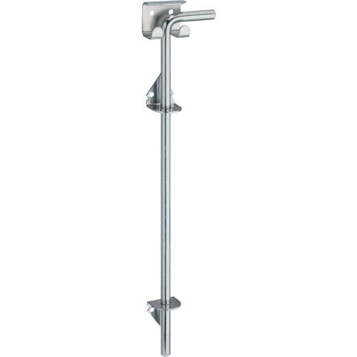 National 1/2 In. X 18 In. Zinc Plated Steel Cane Bolt
