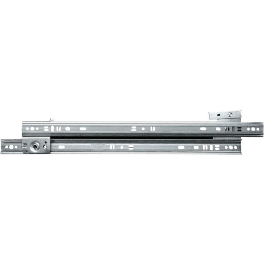 "Knape & Vogt 18"" 75lb Medium Duty 3/4 Extension Drawer Slide (1-Pair)"