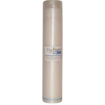 DuoFoam 40 In. W x 30.3 Ft. L Self-Seal Underlayment, 100 Sq. Ft./Roll