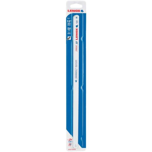 Lenox T2 12 In. x 24 TPI Bi-Metal Hacksaw Blade, Medium Metal (2-Pack)