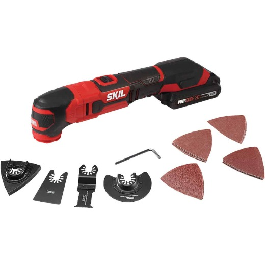 SKIL PWRCore 20 Volt Lithium-Ion Cordless Oscillating Tool Kit