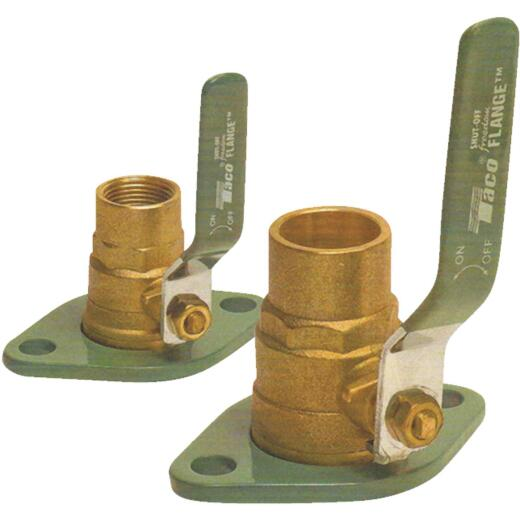 TACO 1-1/4 In. Shut-Off Freedom Swivel Flange