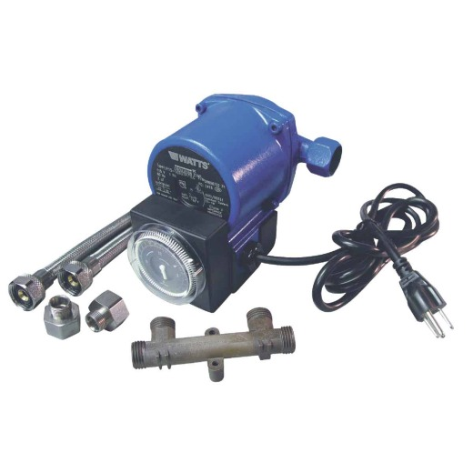 Watts Blue Hot Water Pump Recirculating System