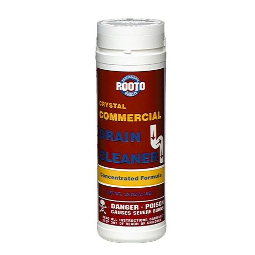 Rooto 2 Lb. Crystal Commercial Drain Cleaner