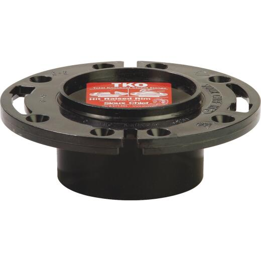 Sioux Chief 4 In. x 3 In. ABS Total Knockout Closet Flange