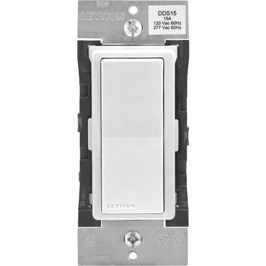 Leviton Decora 15A 120V White Digital Timer Switch