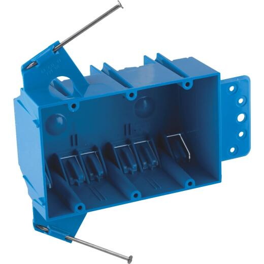 Carlon 3-Gang PVC Molded Wall Switch Box