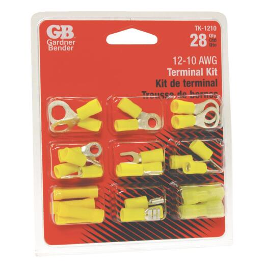 Gardner Bender 12 to 10 AWG 28 Pieces Wire Terminal Kit