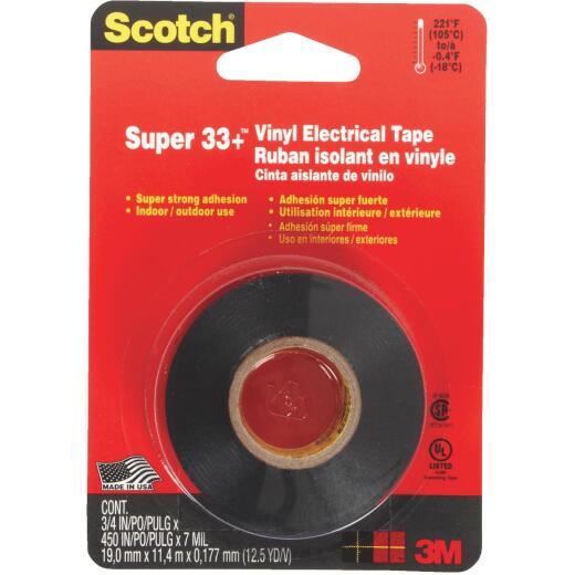 3M Scotch General Purpose 3/4 In. x 450 In. Electrical Tape