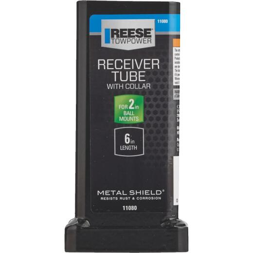 Reese Towpower 6 In. x 2 In. Receiver Tube with Collar