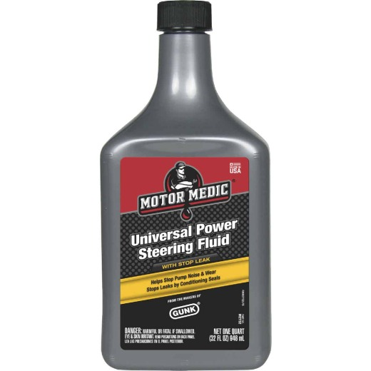 MotorMedic 32 Oz. Power Steering Fluid