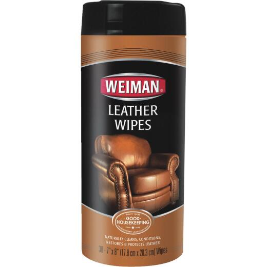 Weiman Leather Care Wipes (30-Count)