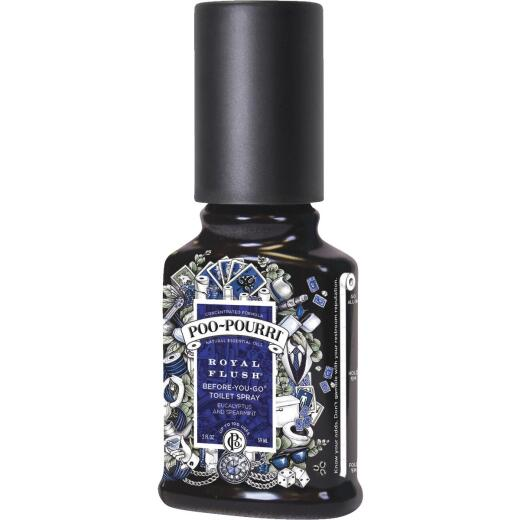 Poo-Pourri Royal Flush 2 Oz. Eucalyptus & Spearamint Deodorizer Spray