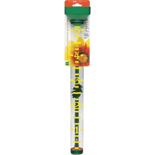 EZRead 5 In. Plastic Jumbo Rain Gauge