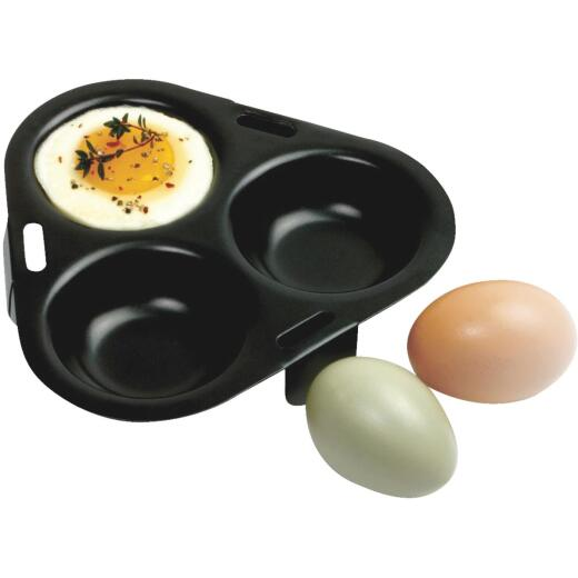 Norpro 3-Egg Non-Stick Egg Poacher