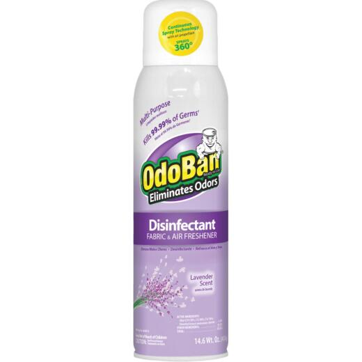 OdoBan 14 Oz. Lavender Fabric & Air Freshener