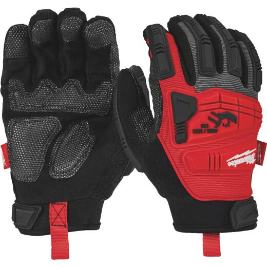 Milwaukee Men's Large Synthetic Leather Impact Demolition Glove
