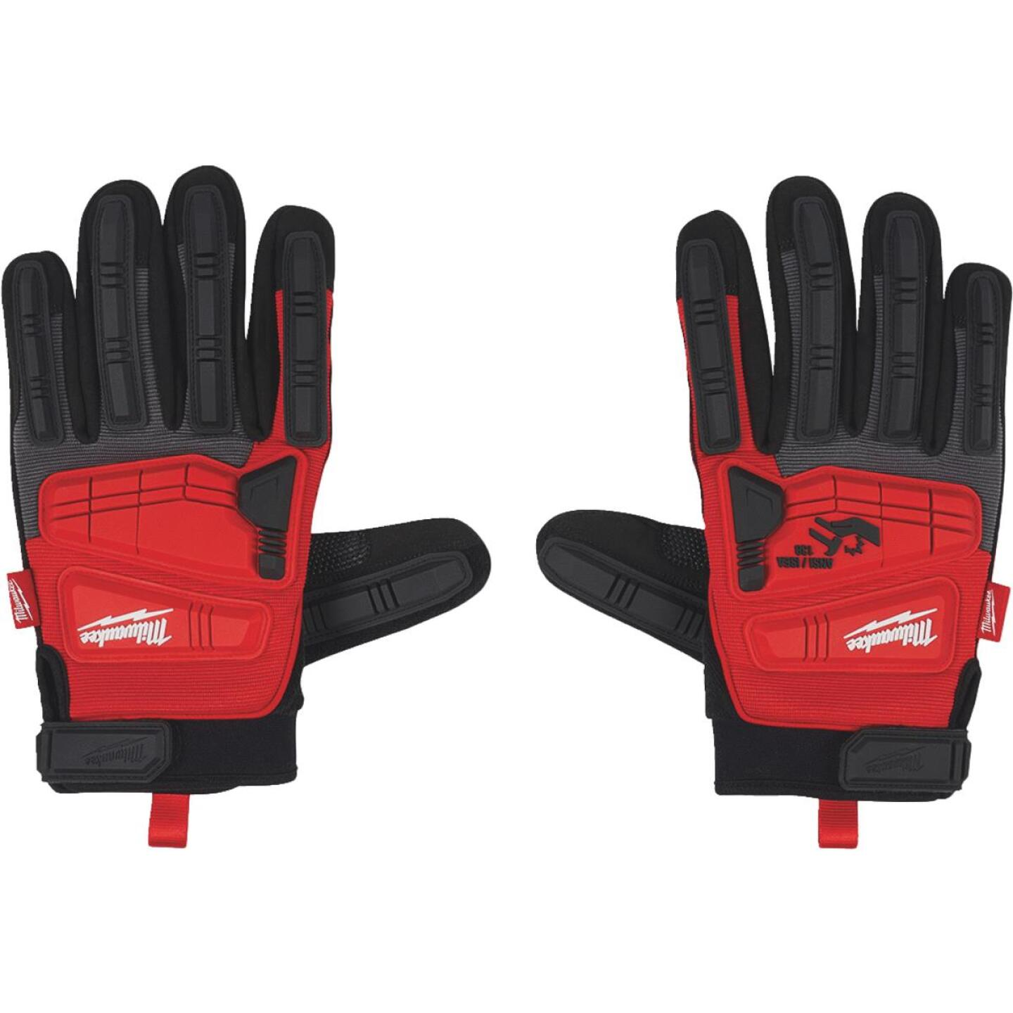 Milwaukee Men's XL Synthetic Leather Impact Demolition Glove Image 3