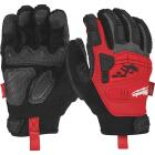Milwaukee Men's XL Synthetic Leather Impact Demolition Glove Image 1