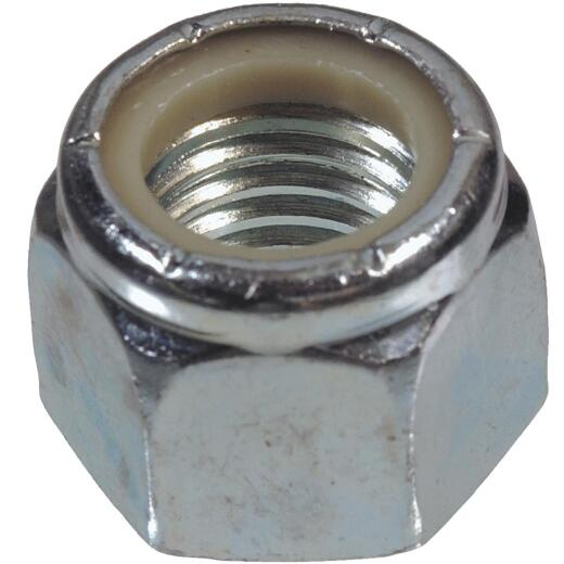 Hillman 5/8 In. 11 tpi Steel Course Thread Nylon Insert Lock Nut (25 Ct.)
