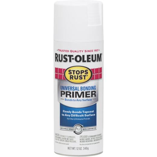 Rust-Oleum Stops Rust White 12 Oz. All-Purpose Spray Paint Primer