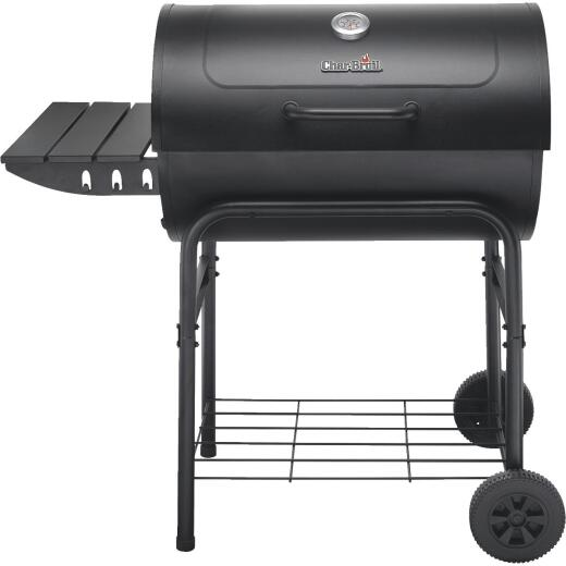 Char-Broil American Gourmet 30 In. L. x 20 In. D. Black Charcoal Grill