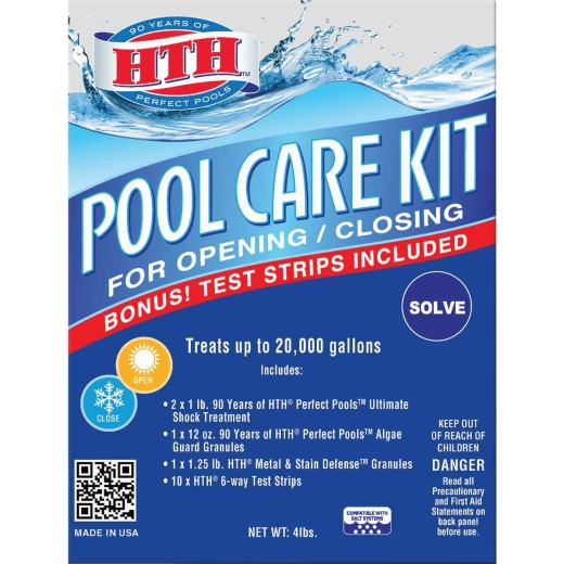 HTH Pool Care Start-Up Kit (14-Piece)