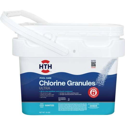 HTH 18 Lb. Ultimate Mineral Brilliance Chlorine Granule
