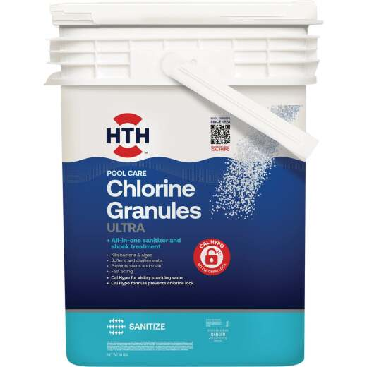 HTH 50 Lb. Ultimate Mineral Brilliance Chlorine Granule