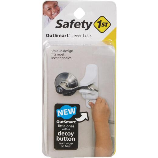 Safety 1st OutSmart Lever Handle White Door Lock